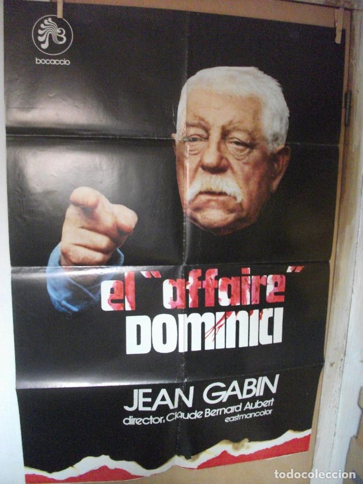 EL AFFAIRI DOMINICI, JEAN GABIN (Cine- Posters y Carteles - Drama)