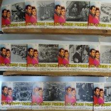 Cinema: LAS CUATRO PLUMAS JOHN CLEMENTS, RALPH RICHARDSON 12 FOTOCROMOS. Lote 211649549