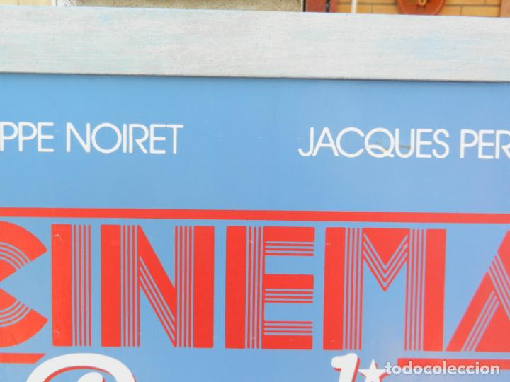 Cine: CARTEL ORIGINAL PELÍCULA CINEMA PARADISO - ENMARCADO - MIDE 107X76 CM. - Foto 4 - 211649906