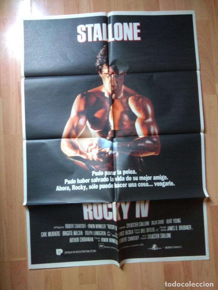 POS-2-POSTER DE LA PELICULA-- ROCKY IV, (Cine - Posters y Carteles - Aventura)