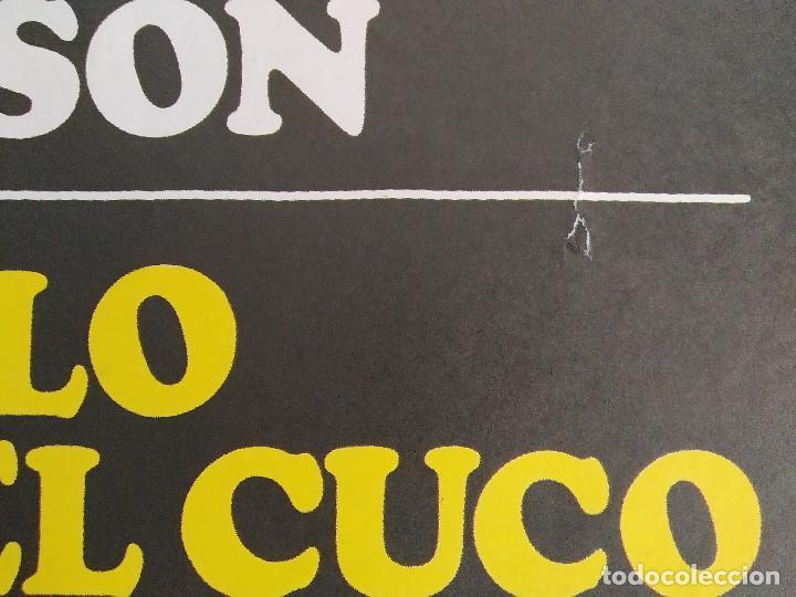 Cine: Alguien voló sobre el nido del cuco. Jack Nicholson, Louise Fletcher AÑO 1970 POSTER ORIGINAL - Foto 5 - 211673821