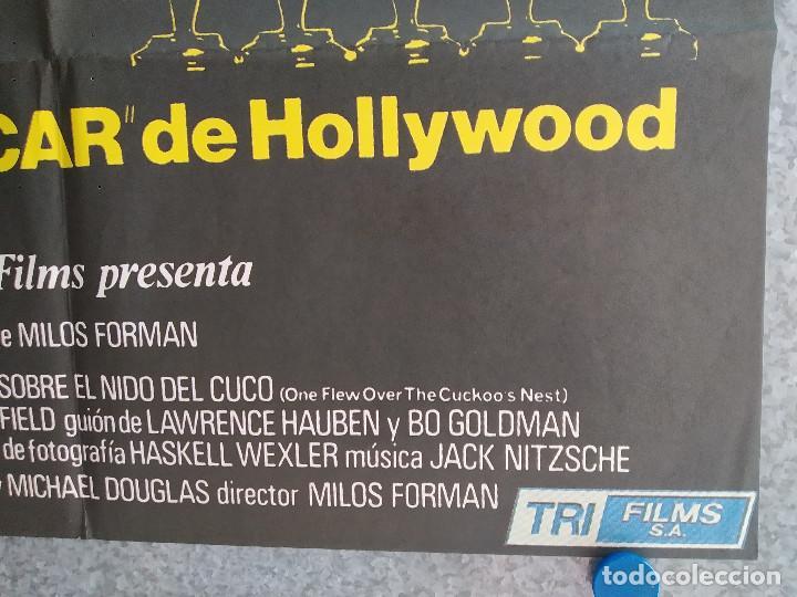 Cine: Alguien voló sobre el nido del cuco. Jack Nicholson, Louise Fletcher AÑO 1970 POSTER ORIGINAL - Foto 6 - 211673821