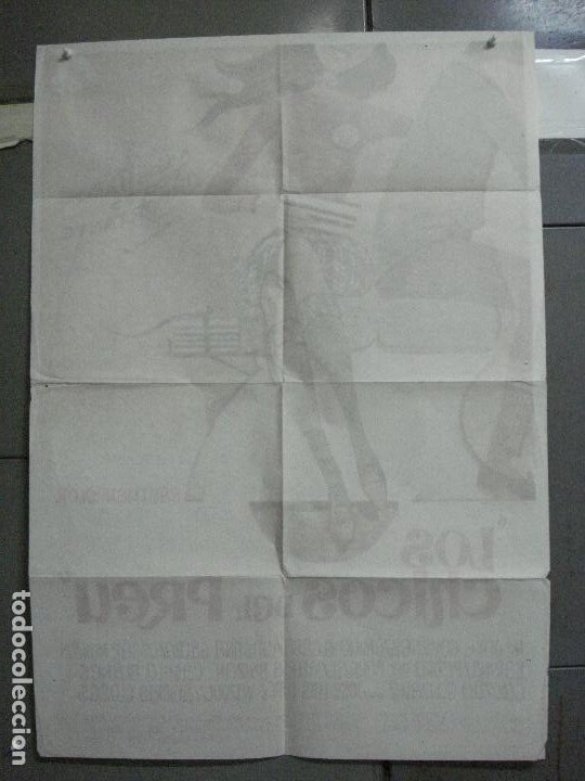 Cine: CDO 4034 LOS CHICOS DEL PREU VESPA KARINA CAMILO SESTO LOS PEKENIKES POSTER ORGINAL ESTRENO 70X100 - Foto 6 - 211676358