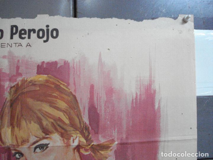 Cine: CDO 4042 DOS CHICAS LOCAS LOCAS PILI Y MILI MIGUEL RIOS PEDRO LAZAGA JANO POSTER ORIG 70X100 ESTRENO - Foto 6 - 211678726