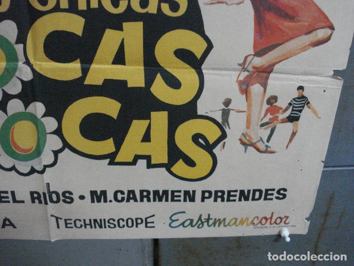 Cine: CDO 4042 DOS CHICAS LOCAS LOCAS PILI Y MILI MIGUEL RIOS PEDRO LAZAGA JANO POSTER ORIG 70X100 ESTRENO - Foto 9 - 211678726