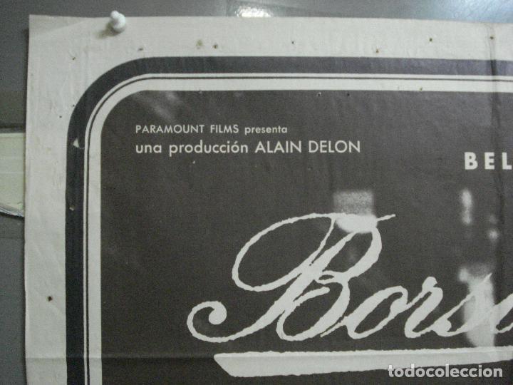 Cine: CDO 4043 BORSALINO ALAIN DELON JEAN-PAUL BELMONDO Lorraine Dietrich B3 6S POSTER ORIG 70X100 ESTREN - Foto 2 - 211680856