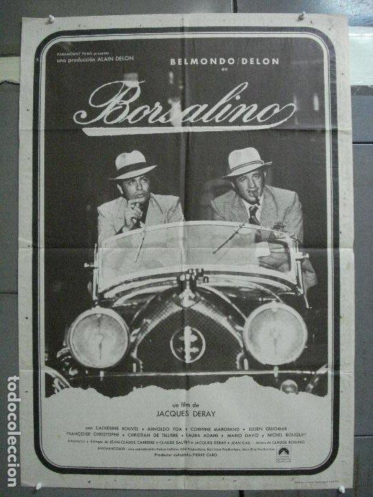 CDO 4043 BORSALINO ALAIN DELON JEAN-PAUL BELMONDO LORRAINE DIETRICH B3 6S POSTER ORIG 70X100 ESTREN (Cine - Posters y Carteles - Acción)