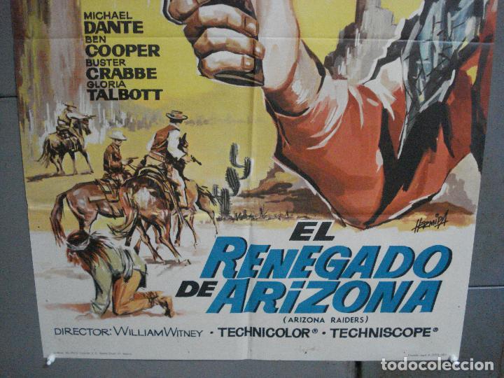 Cine: CDO 4066 EL RENEGADO DE ARIZONA AUDIE MURPHY HERMIDA POSTER ORIGINAL 70X100 ESTRENO - Foto 3 - 211694325