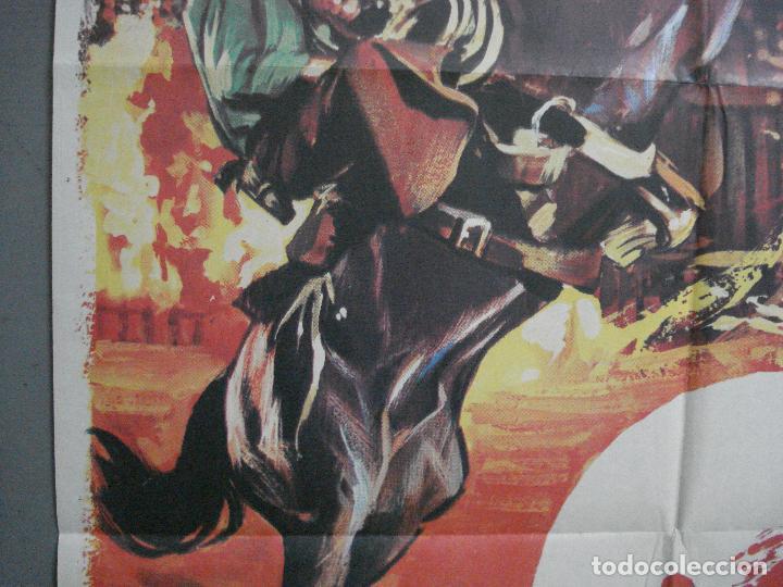 Cine: CDO 4070 UN PARAISO A GOLPES DE REVOLVER GLENN FORD CAROLYN JONES POSTER ORIGINAL 70X100 ESTRENO - Foto 3 - 211695766