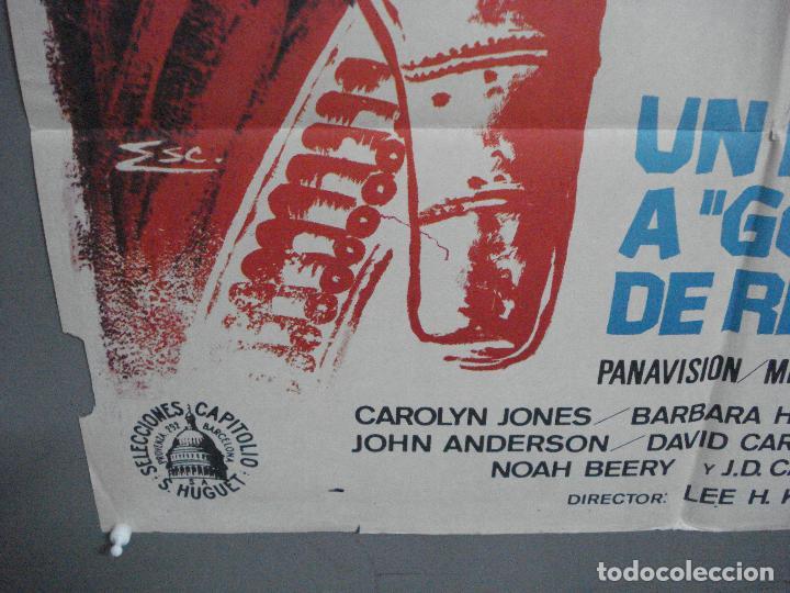 Cine: CDO 4070 UN PARAISO A GOLPES DE REVOLVER GLENN FORD CAROLYN JONES POSTER ORIGINAL 70X100 ESTRENO - Foto 5 - 211695766