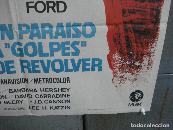 Cine: CDO 4070 UN PARAISO A GOLPES DE REVOLVER GLENN FORD CAROLYN JONES POSTER ORIGINAL 70X100 ESTRENO - Foto 9 - 211695766
