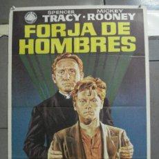 Cine: CDO 4074 FORJA DE HOMBRES SPENCER TRACY MICKEY ROONEY JANO POSTER ORIGINAL 70X100 ESPAÑOL R-72. Lote 211697490