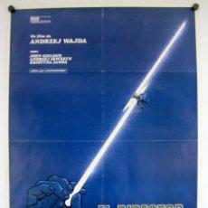 Cine: EL DIRECTOR DE ORQUESTA (ANDRZEJ WAJDA). CARTEL ORIGINAL DEL ESTRENO (1980).. Lote 211730689