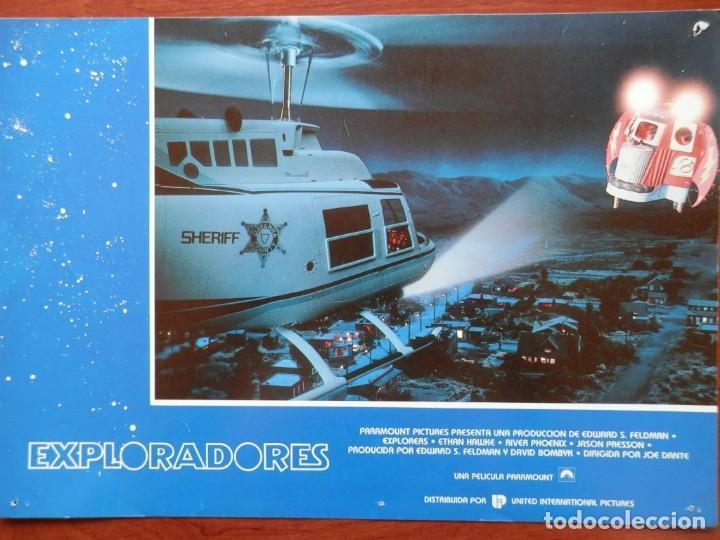 LOBBY CARD - EXPLORADORES - 34 X 24 CENTÍMETROS (Cine - Posters y Carteles - Comedia)