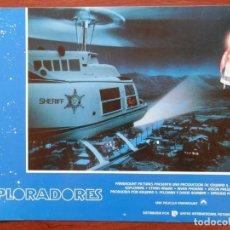 Cine: LOBBY CARD - EXPLORADORES - 34 X 24 CENTÍMETROS. Lote 211746867