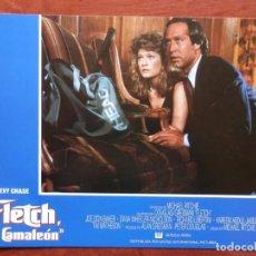 Cine: LOBBY CARD - FLETCH EL CAMALEÓN - 34 X 24 CENTÍMETROS. Lote 211747081