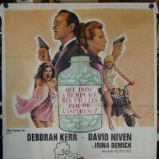Cine: PRUDENCE ET LA PILULE - 1968 - 140 X 120 - LITOGRAFICO. Lote 211747127