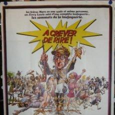 Cine: BANANAS (WOODY ALLEN) - 1971 - 160 X 120 - OFFSET. Lote 211747406