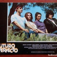 Cine: 2 LOBBY CARD - FUTURO IMPERFECTO - 34 X 24 CENTÍMETROS. Lote 211747480