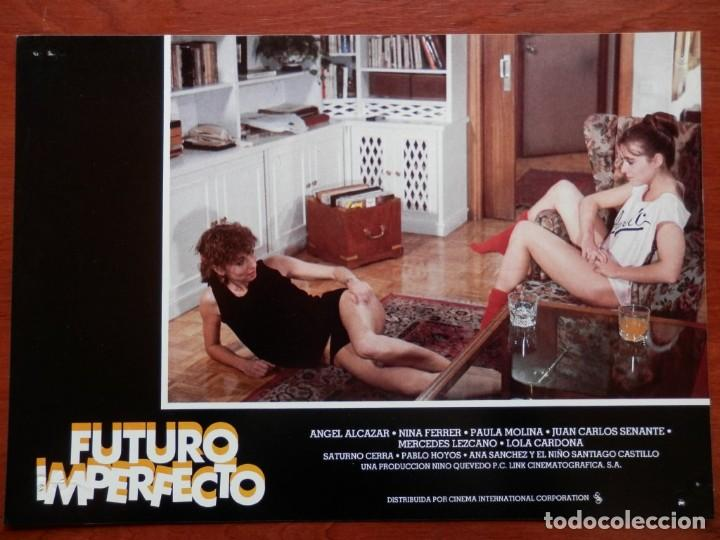 Cine: 2 LOBBY CARD - FUTURO IMPERFECTO - 34 X 24 CENTÍMETROS - Foto 2 - 211747480