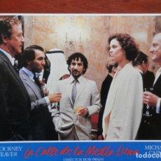 Cinéma: 2 LOBBY CARD - LA CALLE DE LA MEDIA LUNA. Lote 211749623