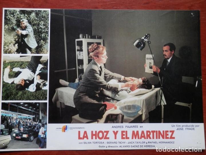 LOBBY CARD - LA HOZ Y EL MARTÍNEZ - 34 X 24 CENTÍMETROS (Cine - Posters y Carteles - Comedia)
