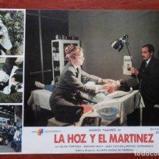 Cine: LOBBY CARD - LA HOZ Y EL MARTÍNEZ - 34 X 24 CENTÍMETROS. Lote 211750672