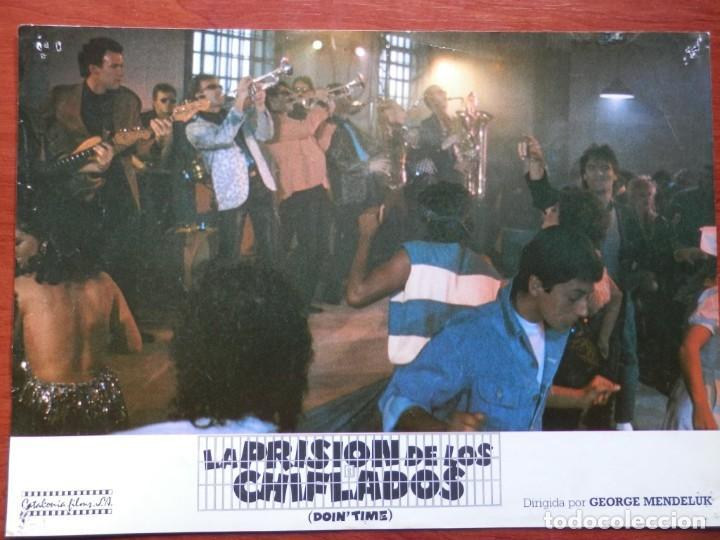 2 LOBBY CARD - LA PRISIÓN DE LOS CHIFLADOS - 34 X 24 CENTÍMETROS (Cine - Posters y Carteles - Comedia)