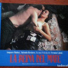 Cinéma: LOBBY CARD - LA REINA DEL MATE - 34 X 24 CENTÍMETROS. Lote 211751847