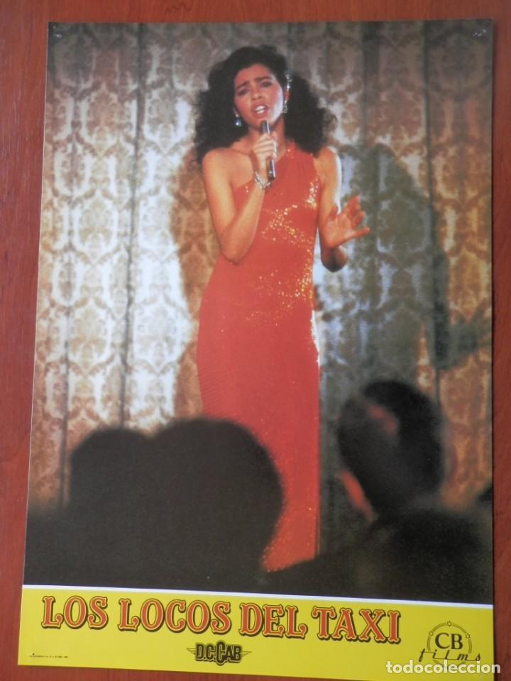 LOBBY CARD - LOS LOCOS DEL TAXI - 34 X 24 CENTÍMETROS (Cine - Posters y Carteles - Comedia)