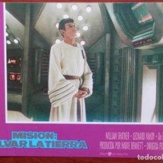 Cine: LOBBY CARD - MISIÓN SALVAR LA TIERRA - 34 X 24 CENTÍMETROS. Lote 211753110