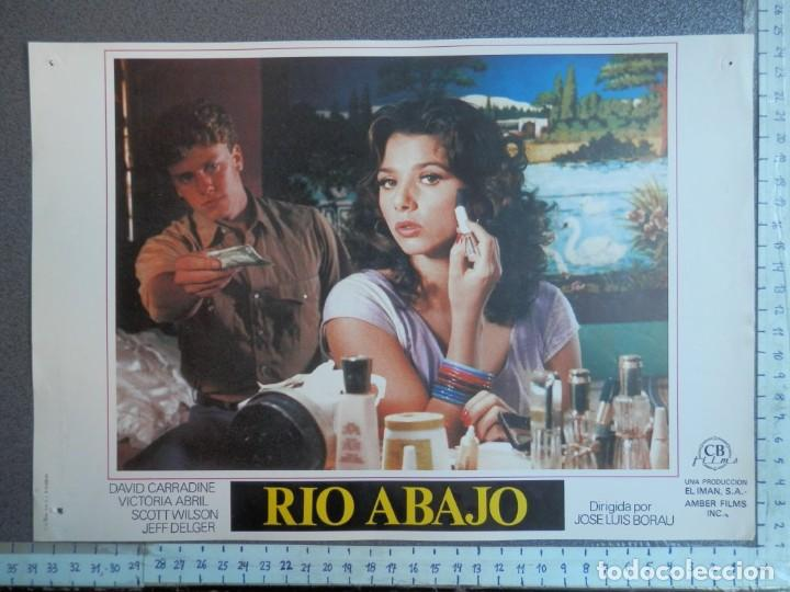 2 LOBBY CARD - RIO ABAJO - 34 X 24 CENTÍMETROS (Cine - Posters y Carteles - Comedia)