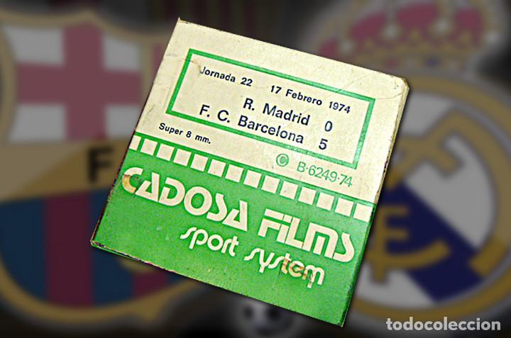 PELÍCULA SUPER 8, R. MADRID-BARCELONA, 19 (Cine - Posters y Carteles - Deportes)