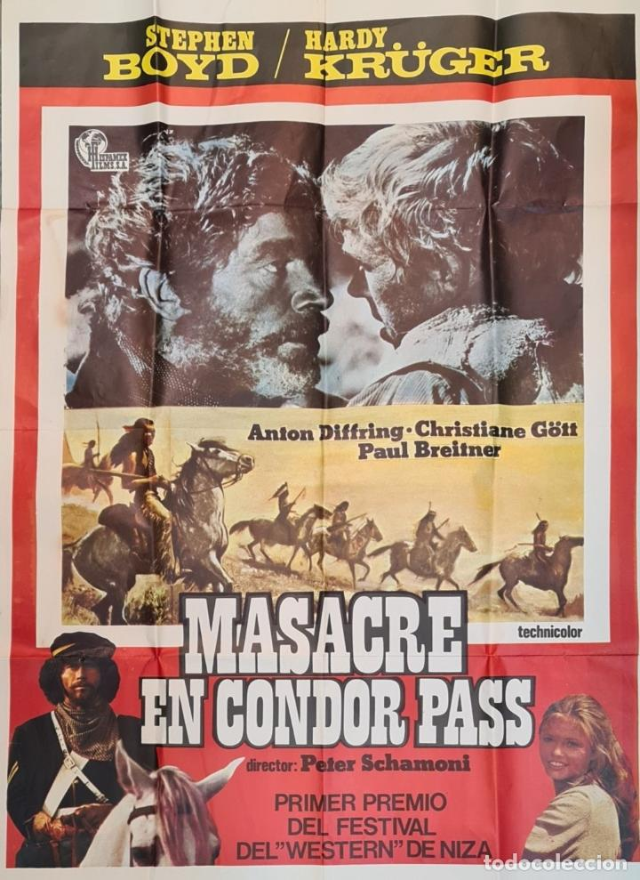 Cine: COLECCIÓN DE 11 CARTELES DE CINE. VARIAS IMPRENTAS Y PELICULAS. AÑOS 60/70. - Foto 5 - 211767755