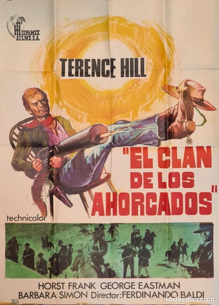 Cine: COLECCIÓN DE 11 CARTELES DE CINE. VARIAS IMPRENTAS Y PELICULAS. AÑOS 60/70. - Foto 10 - 211767755