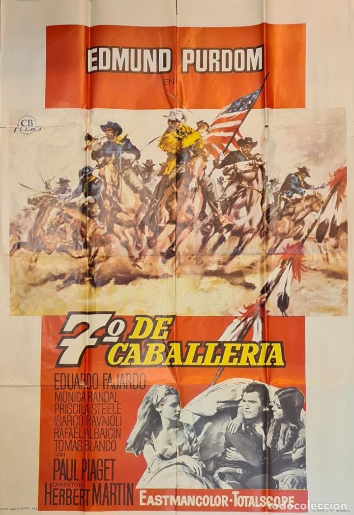 Cine: COLECCIÓN DE 11 CARTELES DE CINE. VARIAS IMPRENTAS Y PELICULAS. AÑOS 60/70. - Foto 11 - 211767755