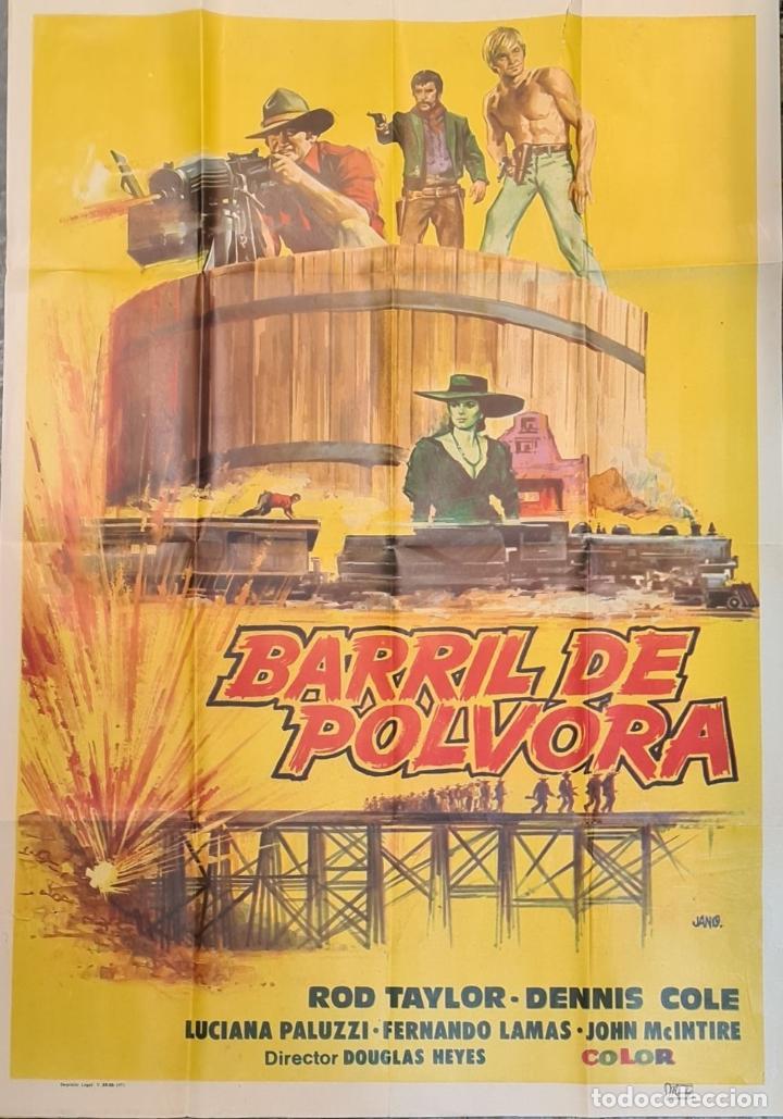 Cine: COLECCIÓN DE 11 CARTELES DE CINE. VARIAS IMPRENTAS Y PELICULAS. AÑOS 60/70. - Foto 12 - 211767755