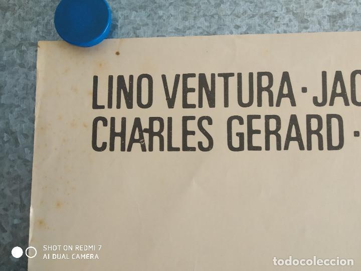 Cine: La aventura es la aventura. Lino Ventura, Jacques Brel. AÑO 1972. POSTER ORIGINA - Foto 2 - 211786925