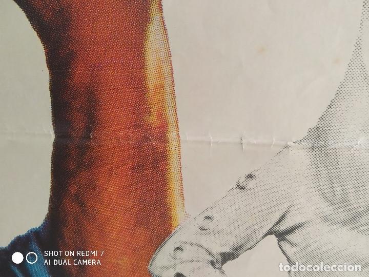 Cine: La aventura es la aventura. Lino Ventura, Jacques Brel. AÑO 1972. POSTER ORIGINA - Foto 11 - 211786925