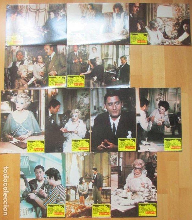 Cine: CARTEL CINE + 12 FOTOCROMOS SEMBRANDO ILUSIONES SILVANA MANGANO BETTE DAVIS 1973 CCF94 - Foto 4 - 211787740