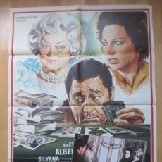 Cine: CARTEL CINE + 12 FOTOCROMOS SEMBRANDO ILUSIONES SILVANA MANGANO BETTE DAVIS 1973 CCF94. Lote 211787740