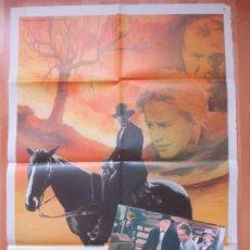 Cine: CARTEL CINE + 10 FOTOCROMOS EL ARBOL DEL AHORCADO GARY COOPER 1981 GUITART CCF98. Lote 211790107