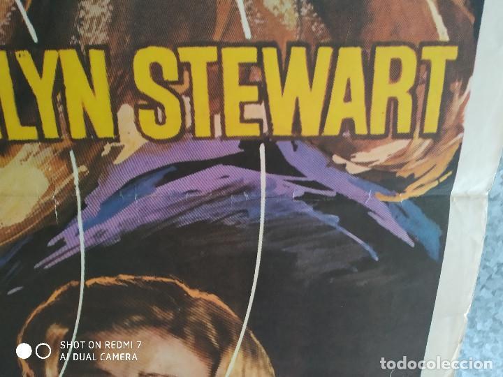 Cine: Detrás del silencio. Carroll Baker, Alan Scott, Ida Galli. AÑO 1972. POSTER ORIGINAL - Foto 6 - 211795177