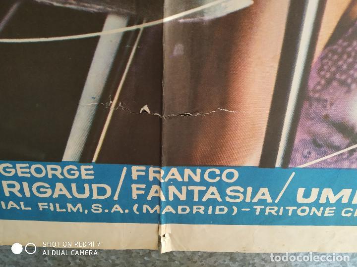 Cine: Detrás del silencio. Carroll Baker, Alan Scott, Ida Galli. AÑO 1972. POSTER ORIGINAL - Foto 10 - 211795177