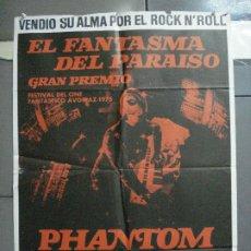 Cine: CDO 4097 EL FANTASMA DEL PARAISO MARTIN SCORCESE POSTER ORIGINAL 70X100 ESTRENO. Lote 211806013