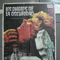 Cine: CDO 4107 LOS DIABLOS DE LA OSCURIDAD TERROR SOLIGO POSTER ORIGINAL 70X100 ESTRENO. Lote 211811893