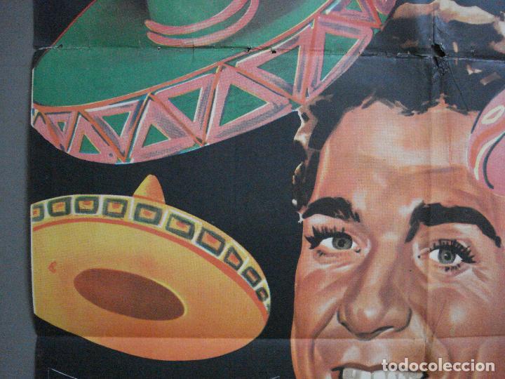 Cine: CDO 4118 EL CANTOR DE MEXICO LUIS MARIANO POSTER ORIGINAL 70X100 ESPAÑOL R-68 - Foto 3 - 211816450