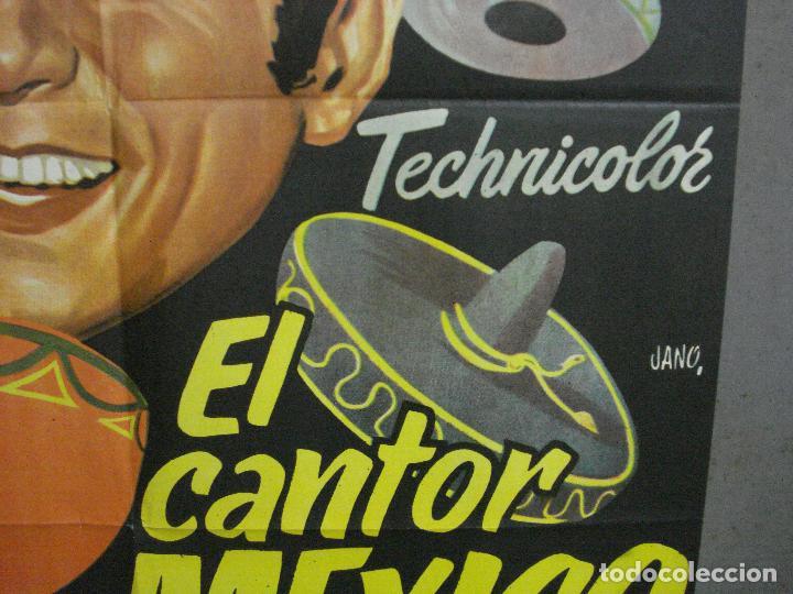 Cine: CDO 4118 EL CANTOR DE MEXICO LUIS MARIANO POSTER ORIGINAL 70X100 ESPAÑOL R-68 - Foto 8 - 211816450