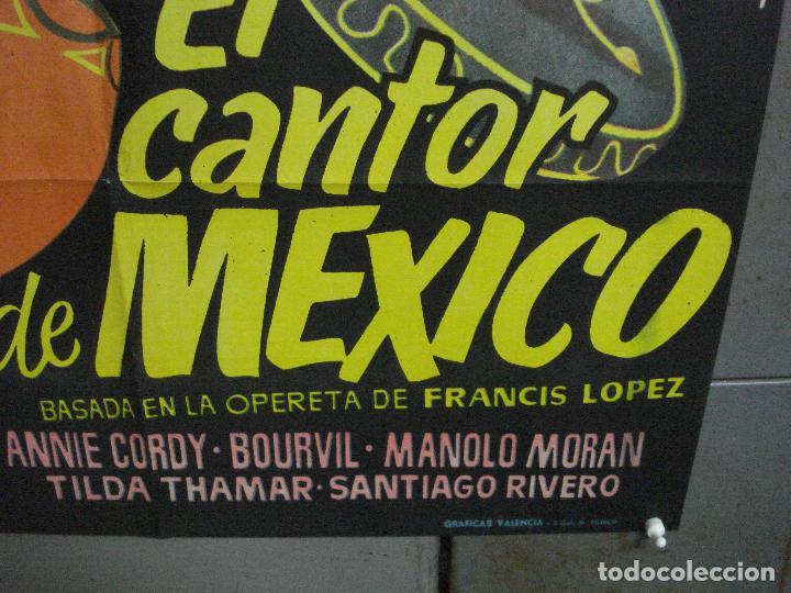 Cine: CDO 4118 EL CANTOR DE MEXICO LUIS MARIANO POSTER ORIGINAL 70X100 ESPAÑOL R-68 - Foto 9 - 211816450