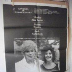 Cinema: LA FUERZA DEL CARIÑO. Lote 211842880